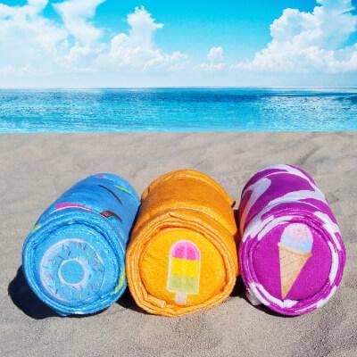 3.Beach towels
