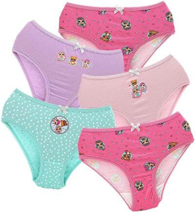 6.Underwear for girls