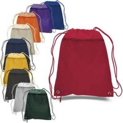 9.Drawstring Backpacks