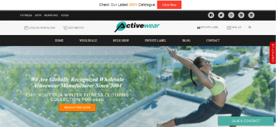 11.Activewear Manufacturer