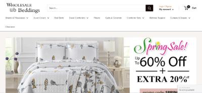 13. Wholesale Beddings