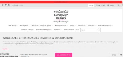 13.Wholesale Accessory Market