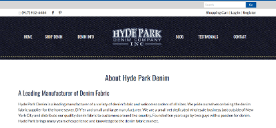 14.Hyde Park Denim Company