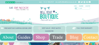 17.Bell Tent Boutique