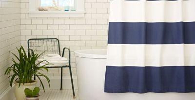2. Shower Curtain