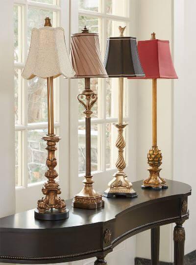 2.Buffet Lamps