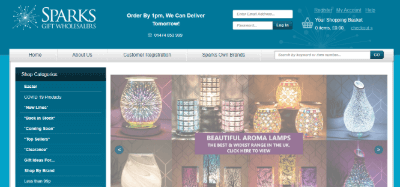 20.Sparks gift wholesalers