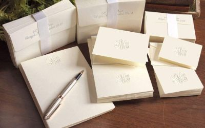 3. Personalized Stationery