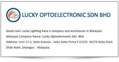 4. Huizhou Lucky Lighting Co., Limited