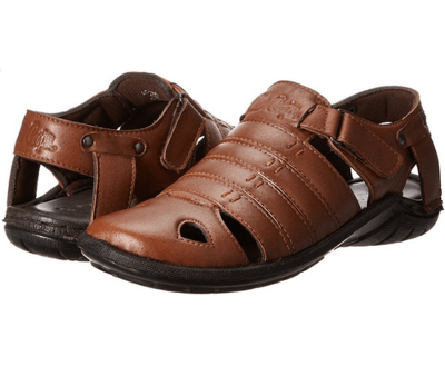 4.Leather Sandals