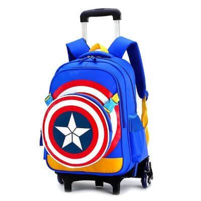 6. Wheeled Luggage