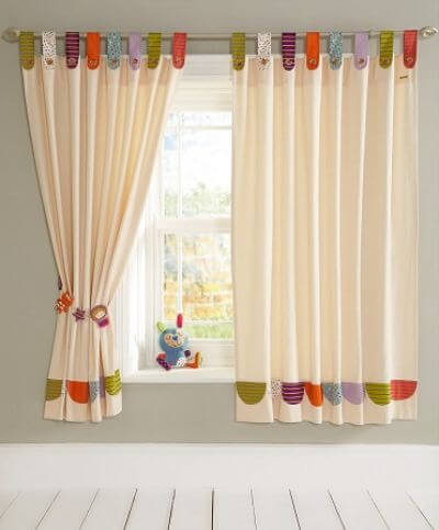 7. Tab-Top Curtain