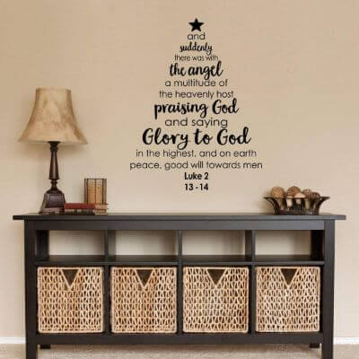 8.Holiday Wall Stickers