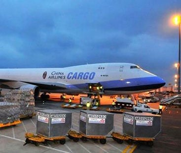 Bedding Air Freight From Shipping