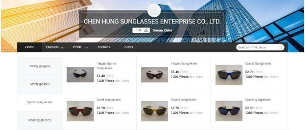 CHEN HUNG SUNGLASSES ENTERPRISE CO., LTD