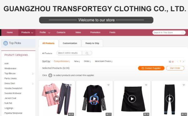 Guangzhou Transfortegy Clothing Co., Ltd
