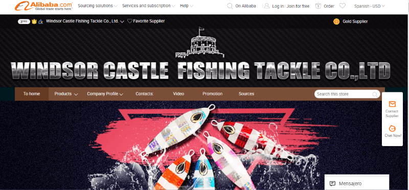 10. Windsor Castle Fishing Tackle Co., Ltd.