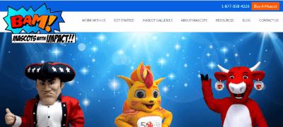 11. BAM Mascots Company