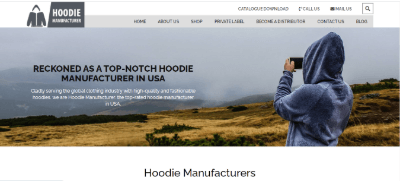11. Hoodie Manufacturer