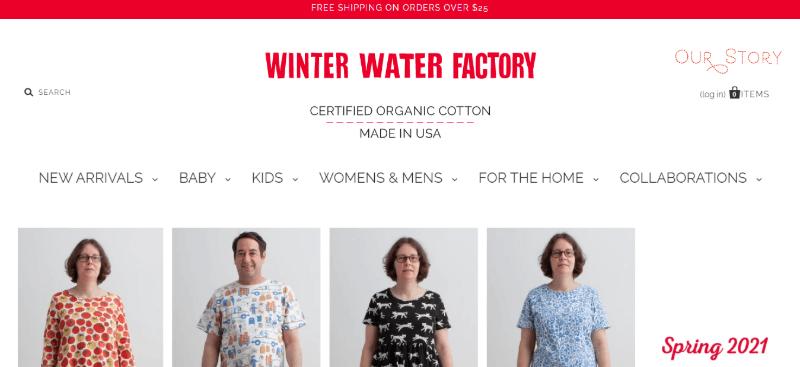 11. Winter Water Factory