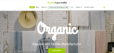 11.Organic Apparel and Textile Manufacturers