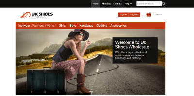 11.UK Shoes Wholesale