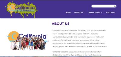 12.California Costumes