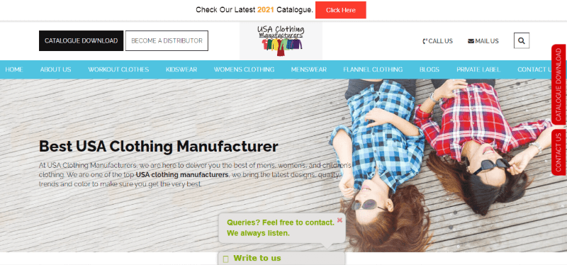 13. The U.S.A. Clothing Manufacturers