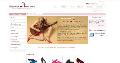 13.Clearance Footwear