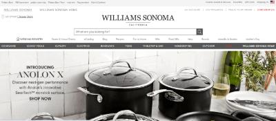 13.Williams Sonoma