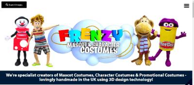 16. Frenzy Creative Mascot Costume