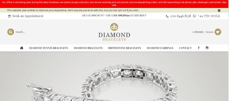 16.Diamond Bracelets