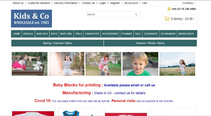 16.Kids & Co Wholesale