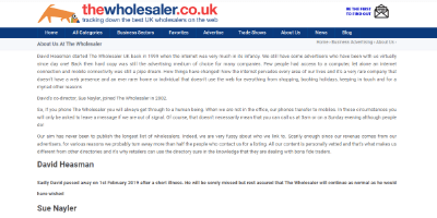 16.The Wholesaler Co