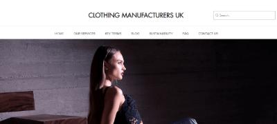 17. Clothing Manufacturers UK