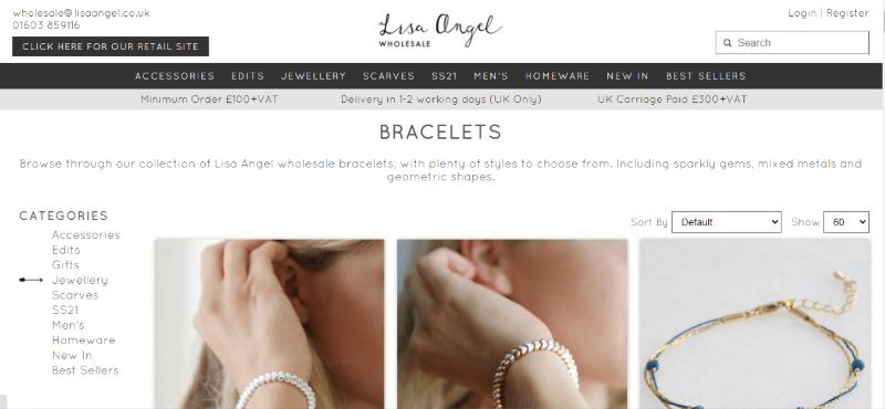 17.Lisa Angel Wholesale