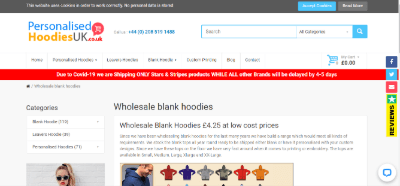 17.Personalized Hoodies UK