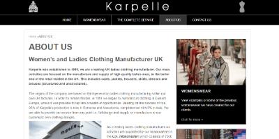 19.Karpelle Clothing Manufacturer UK