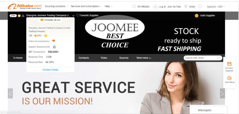 2. Shanghai Joomee Trading Company Limited