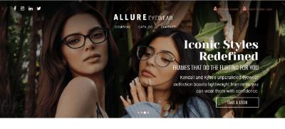 2.Allure Eyewear