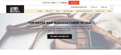 20.Bag Manufacturer the USA