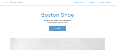 20.Boston Shoe
