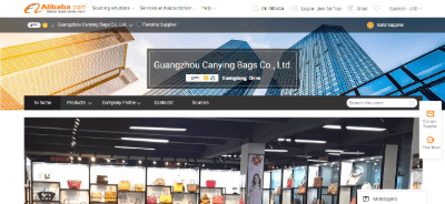 4.Guangzhou Canying Bags Co., Ltd.