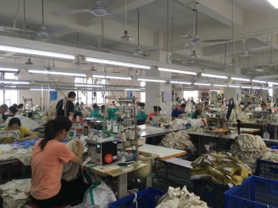 5.Dongguan Worui Garment Co., Ltd.