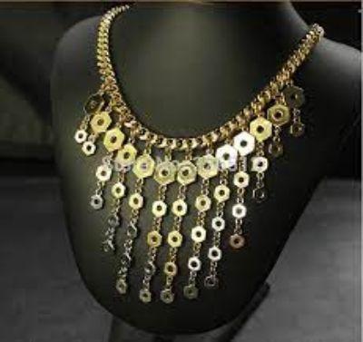 10. Fringe Necklace