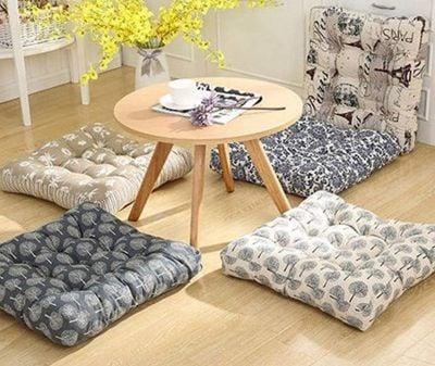 10. Seating cushions