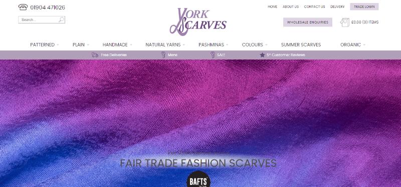 11.York Scarves