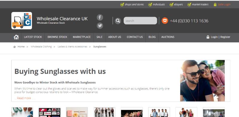 12.Wholesale Clearance UK