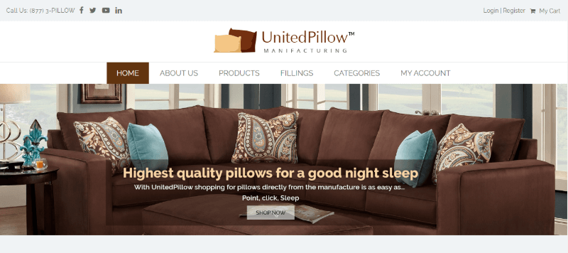 13. United Pillow