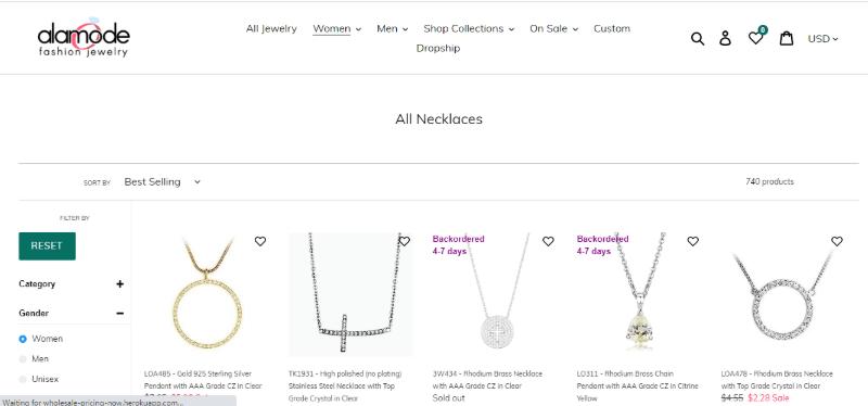 14. Alamode Fashion Jewelry